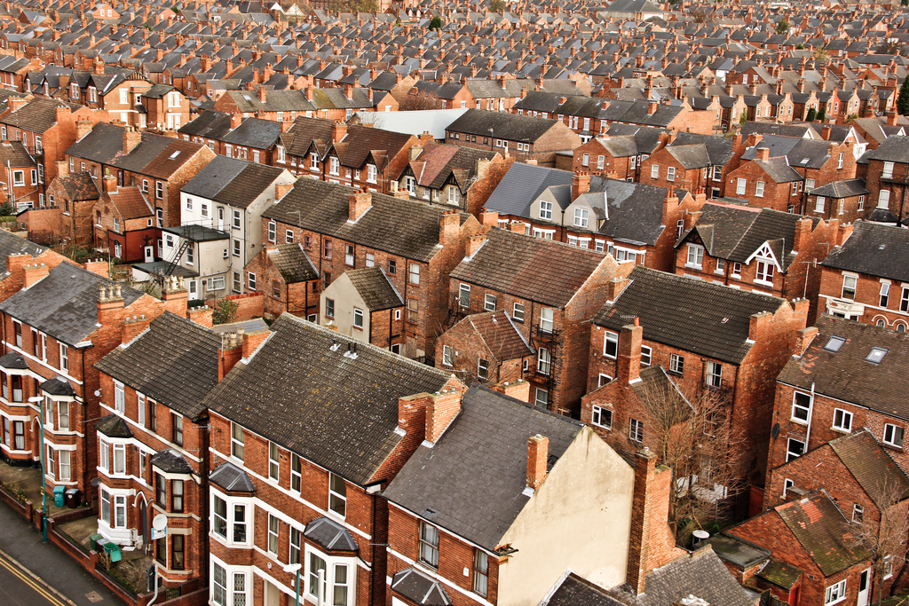 Victorian Houses, Nottingham!!! by Natesh Ramasamy / CC BY